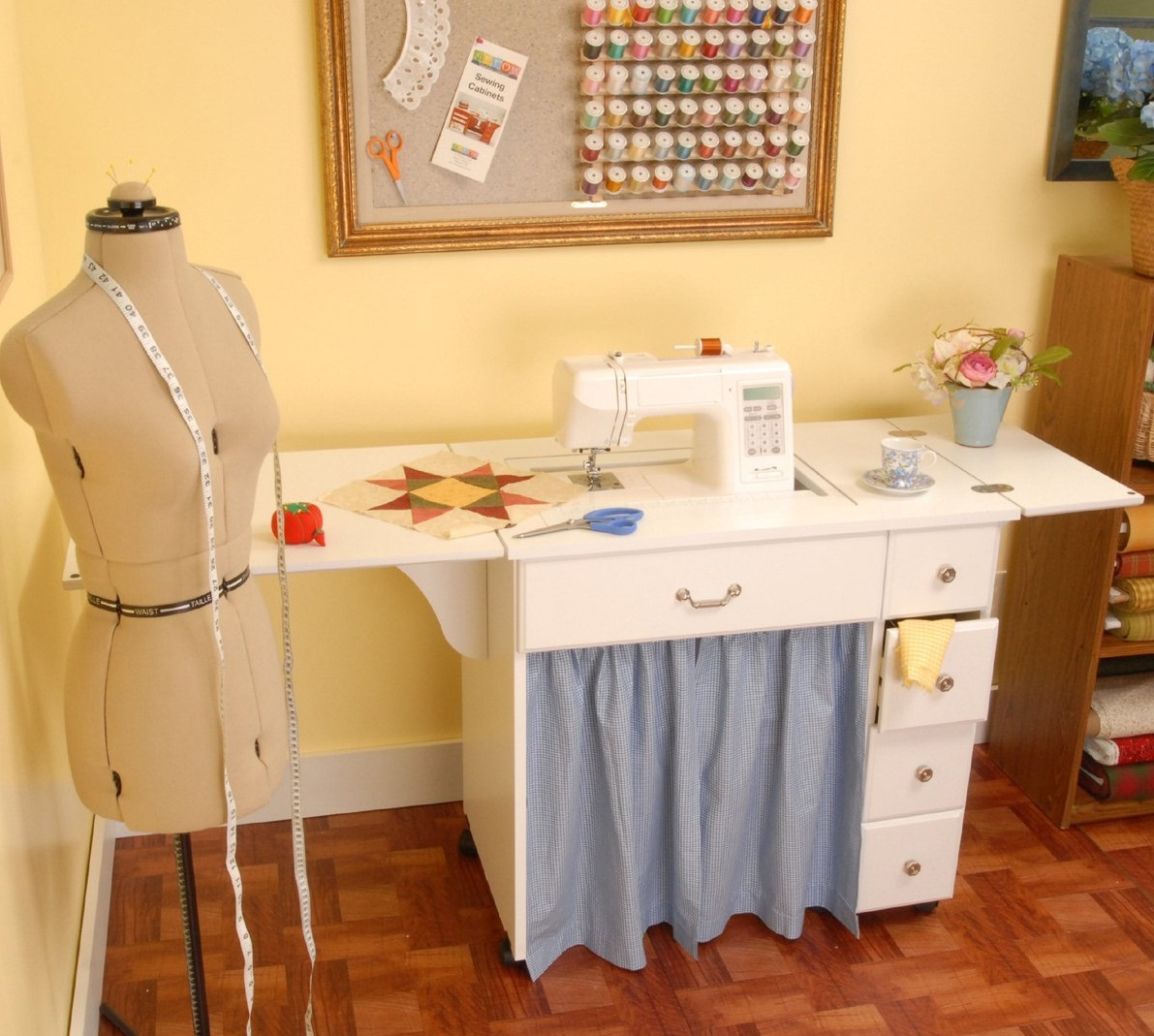 Auntie Em Sewing Cabinet