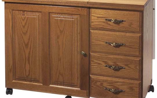 drop leaf cabinet
