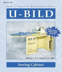 sewing machine furniture plans