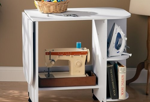 sei collapsible sewing table