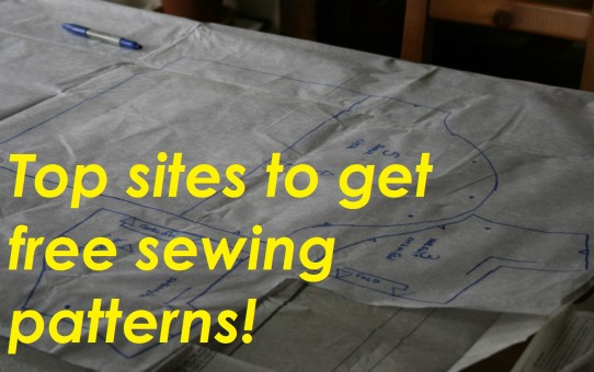 free downloadable sewing patterns