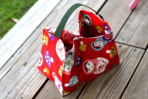open top lunch bag pattern