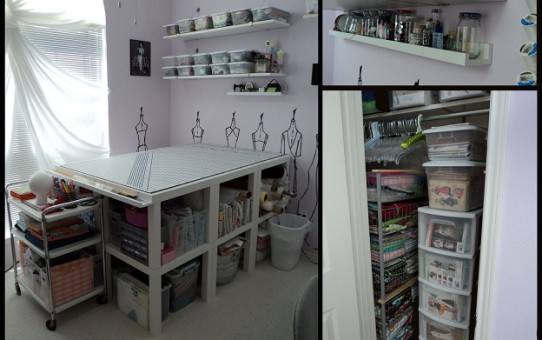 ikea sewing room