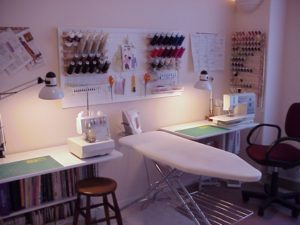 sewing room design tips