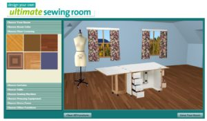 design your sewing room