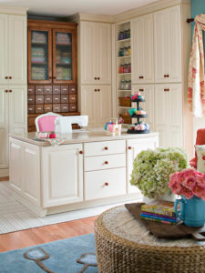 sewing room design