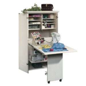 Sauder Harbor View Armoire Ah The Clic Sewing Cabinet